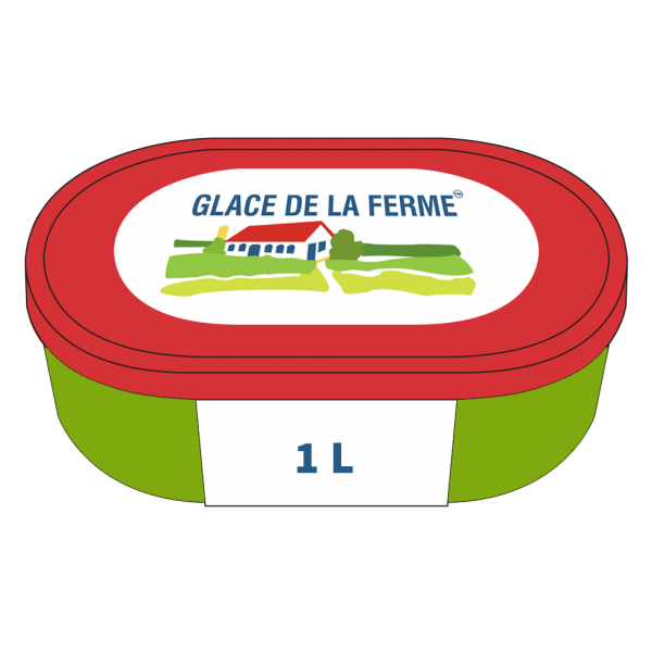 Crème glacée au Basilic